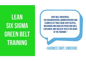 Lean Six Sigma Green Belt Training Review