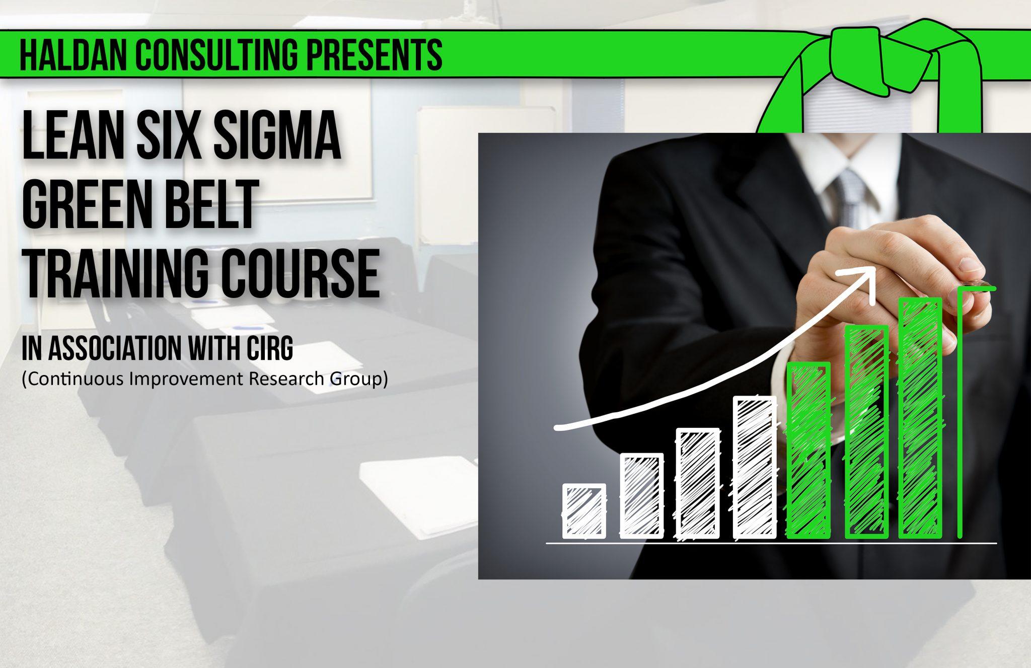 Haldan Consulting Lean Six Sigma Green Belt Training