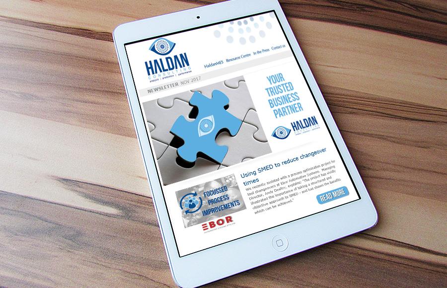 Haldan Cosnulting Newsletter November 2017