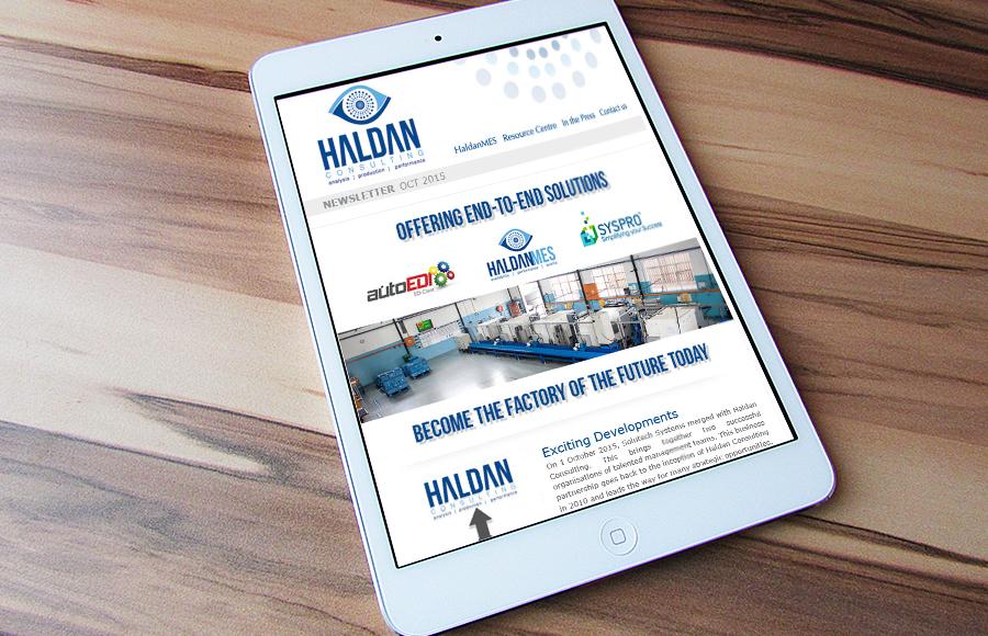 Haldan Consulting Newsletter October 2015